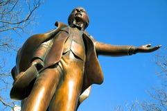 Lloyd George Statue Royalty-vrije Stock Fotografie