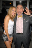 Lloyd Kaufman, Paula LaBaredas Foto de Stock Royalty Free