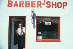 Lloyd le coiffeur photographie stock