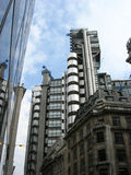 Lloyd's building. The home of the insurance institution Lloyd's of London, located in Lime Street in the City of London Stock Image