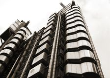 Lloyd's Building London. The Lloyd's Building in the city of london Stock Image