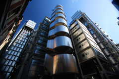 The Lloyd's Building in London Stock Image