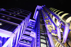 Lloyd\'s Building at night Royalty Free Stock Photo