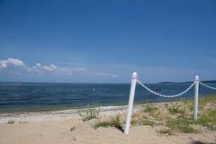 Lloyd szyi plaża Obrazy Royalty Free