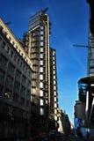 Lloyds大厦在伦敦,里里外外大厦 库存照片