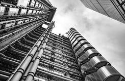 Lloyds大厦,伦敦英国 免版税库存图片