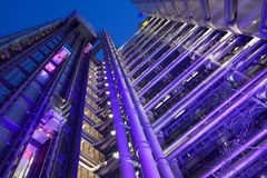 Lloyds大厦 免版税库存照片