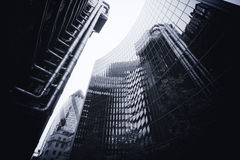 伦敦- 9月21 :Lloyds大厦用嫩黄瓜 免版税库存照片
