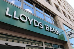 Lloyds bank Arkivbild