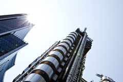Lloyds building from below Royalty Free Stock Photo