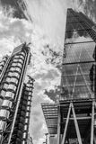 Lloyds Building and the Cheese Grater Stock Images