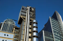 Lloyd's Building Cityscape Royalty Free Stock Image