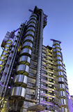 Lloyds building, HDR version stock photo