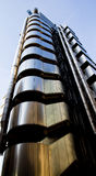 Lloyds Building London. View of the famous building in London Viewed Looking upwards Royalty Free Stock Images