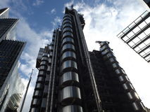 Lloyds Building London. City Financial District Stock Photo