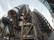Lloyds building in London Royalty Free Stock Photos