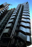 Lloyds byggnad london Arkivfoto