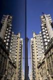 Lloyds del doppio di Londra Fotografie Stock