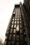 Lloyds do elevador de Londres Fotos de Stock