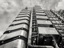Lloyds of London black and white Stock Photo