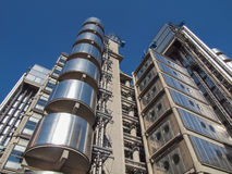 Lloyds of London building Stock Image