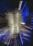 Lloyds of London night zoom Stock Photo