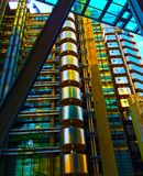Lloyds of London Iconic Building Stock Photos