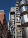 Lloyds Londyński budynek Zdjęcie Royalty Free