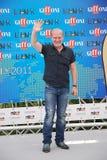 LluÃs Homar alGiffoni filmfestival 2011 Arkivbild