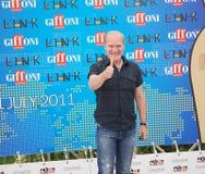 LluÃs Homar alGiffoni filmfestival 2011 Arkivfoton