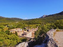 Lluc Sanctuary on Majorca Stock Photography