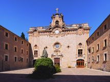 Lluc Sanctuary on Majorca Stock Photo
