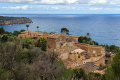 Llucalcari Serra de Tramuntana old village UNESCO world heritage Stock Image