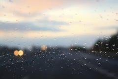 Llueva los descensos Imagenes de archivo