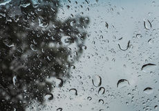 Llueva los descensos Fotografía de archivo libre de regalías