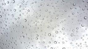 Llueva los descensos Imagen de archivo libre de regalías