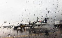 Llueva los descensos Fotografía de archivo
