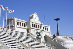 Lluis Companys Olympic Stadium Royalty Free Stock Photos