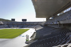 Lluis Companys Olympic Stadium Royalty Free Stock Images