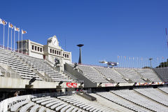 Lluis Companys Olympic Stadium Royalty Free Stock Photography