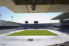 Lluis Companys Olympic Stadium Royalty Free Stock Photo