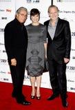Lluis Homar, Blanca Portillo und Edward James Olmos Lizenzfreie Stockfotografie