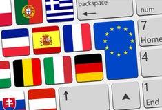 Llustration de concept de l'Europe illustration de vecteur