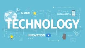 Llustration del concepto de la tecnología stock de ilustración