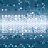 Llustration der High-Techen Tastatur Lizenzfreie Stockfotografie