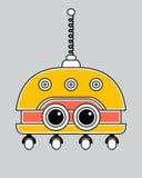 Llustration di un robot d'annata Immagini Stock Libere da Diritti