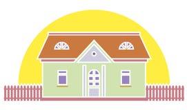 Llustration dos bens imobiliários ilustração stock