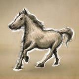 Llustration realistische schets op ambacht Royalty-vrije Illustratie