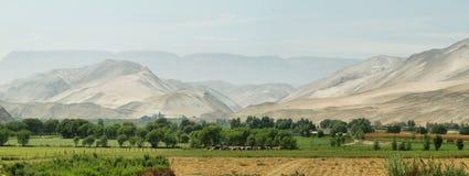 Lluta Valley landscape Royalty Free Stock Photo