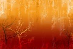 Lluvia ácida Imagen de archivo libre de regalías